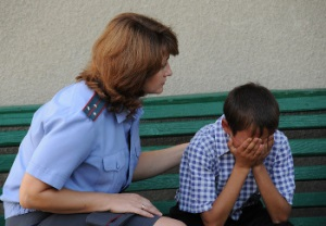 Вовлечение несовершеннолетнего в совершение преступления