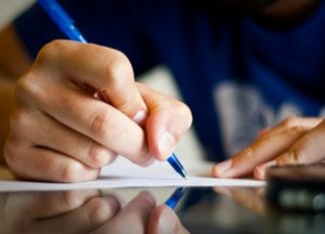 Как правильно написать заявление?