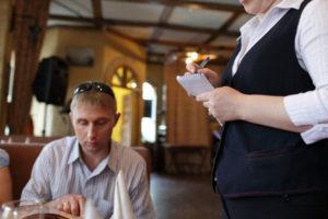 Инцидент в кафе: пример
