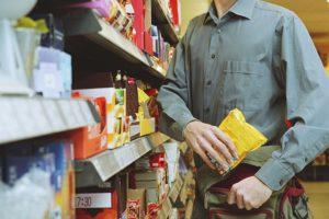 Кражи в продуктовых супермаркетах